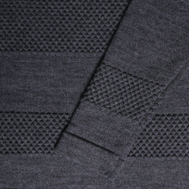 Norse Projects // Bubble Crew Neck Sweater Close Up