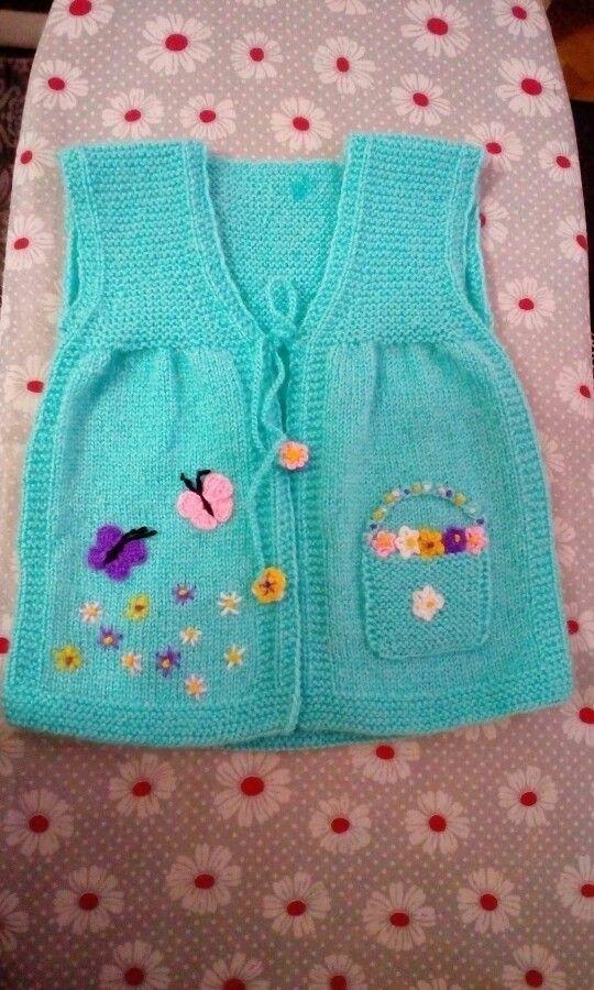 Çocuk yeleği [] #<br/> # #Baby #Ideas,<br/> # #Tissues<br/>