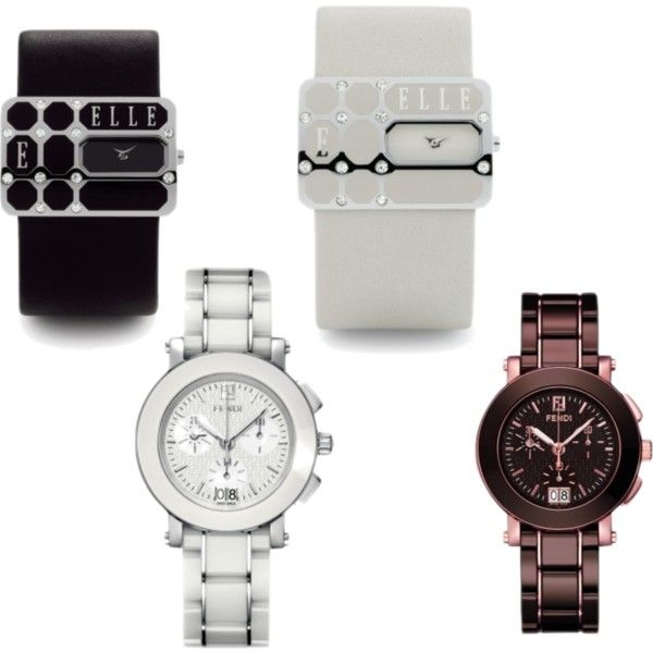 """""""My favorite Watches"""" by melissa-nagel-heerebout on Polyvore"""