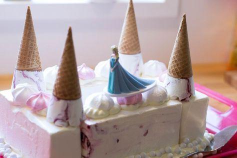 Frozen Jäätelökakku