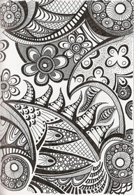 Doodles, zentangles, mandalas 6: Pattern, Zentangle Art, Tangle 97 ...