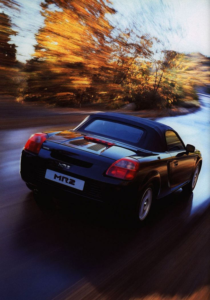 https://flic.kr/p/FJ5MjD | Toyota MR2 Roadster; 2001_2 | auto car brochure | by worldtravellib World Travel library
