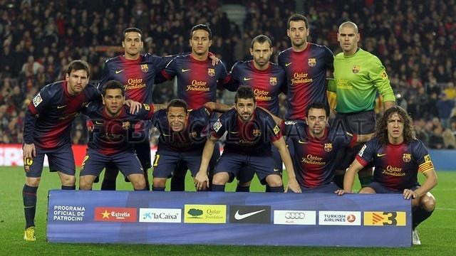 FC Barcelona vrs. Osasuna | 2013-01-27.