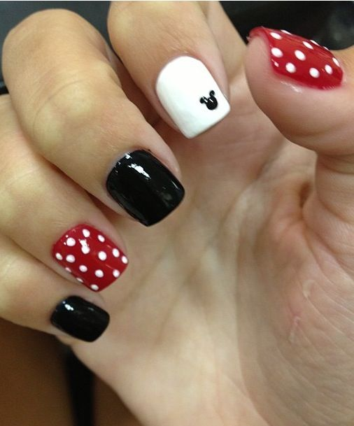 Disney land nails !