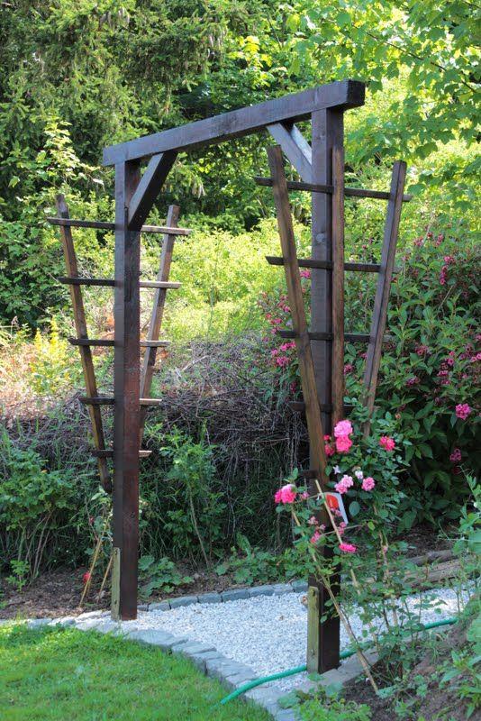 die besten 25+ rosenbogen holz ideen auf pinterest | wisteria,