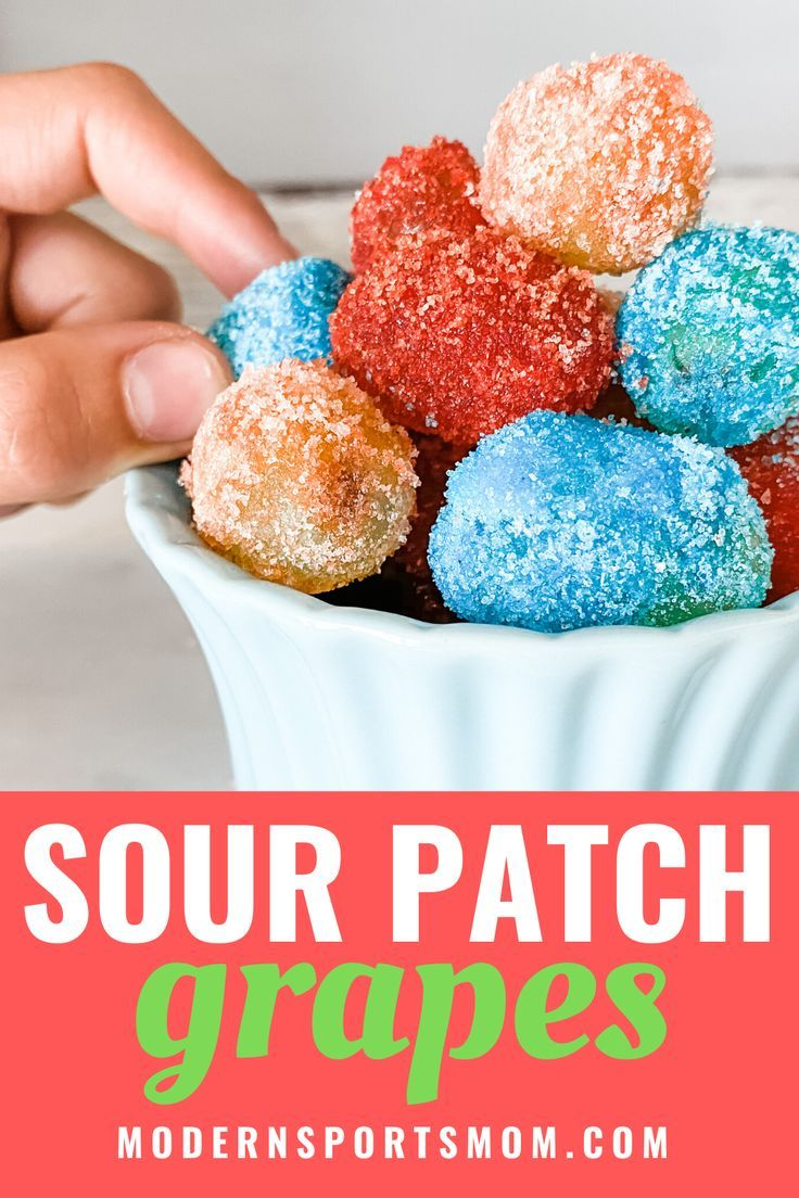Candy Grapes Recipe Sour patch grapes, Jolly rancher