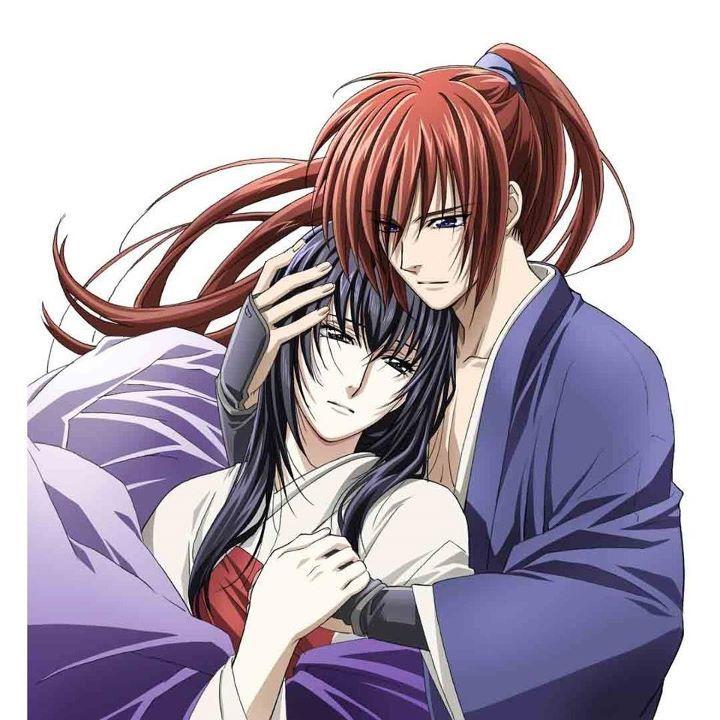 Kenshin and Tomoe - Samurai X