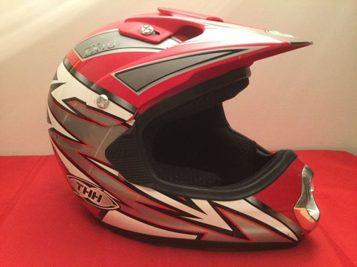 THH TX-10 motorcross helmet unisex size large