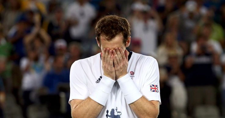 Andy Murray wins gold at Rio Olympics 2016. Andy Murray can't hold back the tears after winning gold in Rio 2016 Olympics tennis final  08:42, 15 Aug 2016. It all got a bit too much for the Team GB athlete after he put in a colossal … http://www.mirror.co.uk/sport/other-sports/athletics/andy-murray-cant-hold-back-8633329