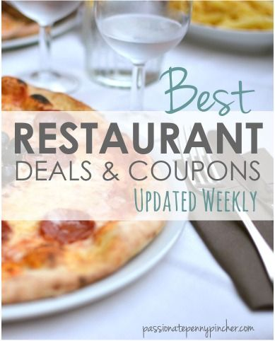 How to get restaurant coupons