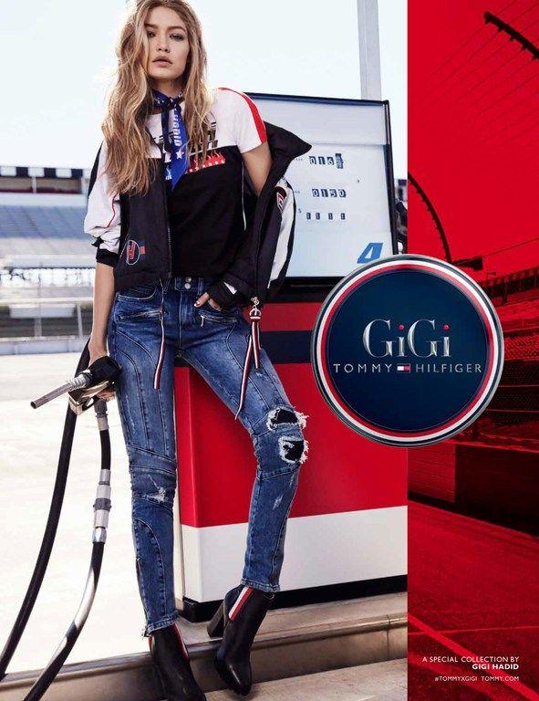 6f8dfa8d Gigi X Tommy Hilfiger 2018 Spring/Summer 2018 Campaign #GigiHadid # TommyHilfiger