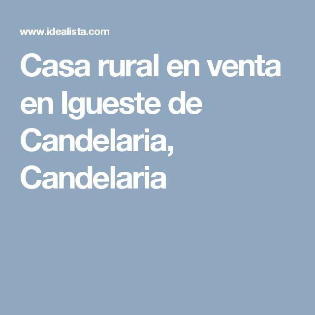Casa rural en venta en Igueste de Candelaria, Candelaria