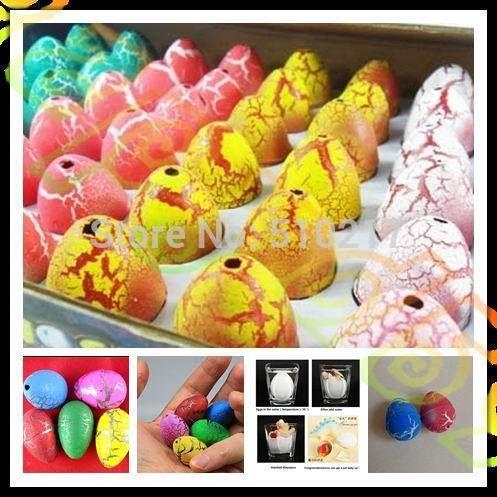 48 шт. 2.5*3.2 СМ ребенок Пасхальное Яйцо Пасхальные яйца динозавров динозавров животных яйца вылупляются животных творческие игрушки пасха подарок ко дню детей
