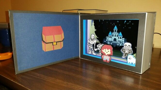 Undertale Diorama Book Paper Crafts Pinterest Book