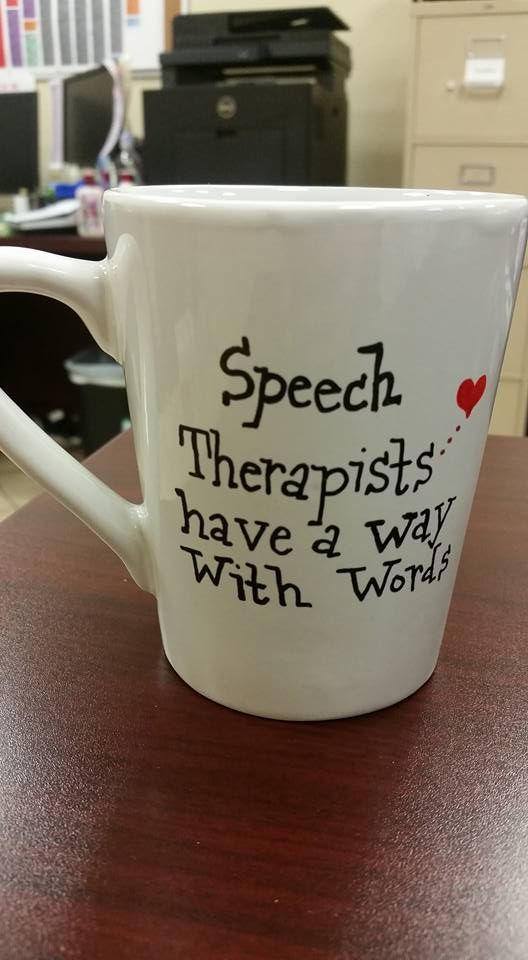 A wonderful gift for your child's speech therapist!! Order yours today by visiting our Facebook page https://www.facebook.com/MagnoliaMug/ and sending us a PM!