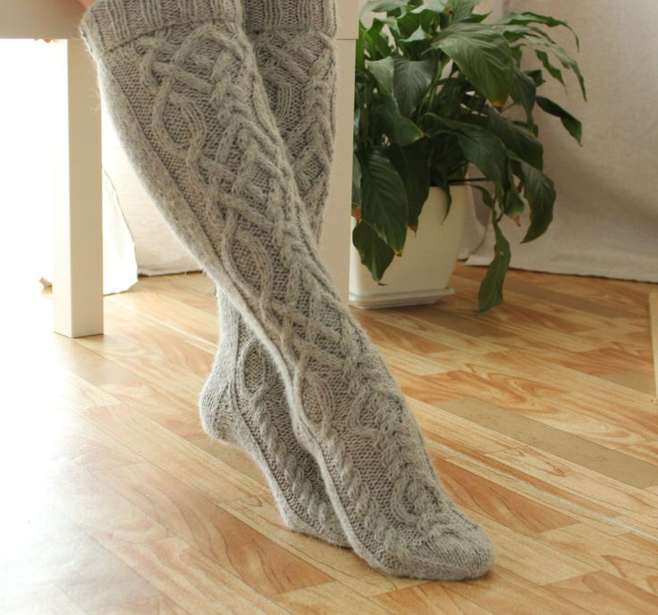 Wool socks Boot socks Womens socks Knee high socks Womens wool socks Winter socks Warm socks Cable knit socks Knee high boot socks by AngerRefuge on Etsy https://www.etsy.com/listing/479438875/wool-socks-boot-socks-womens-socks-knee