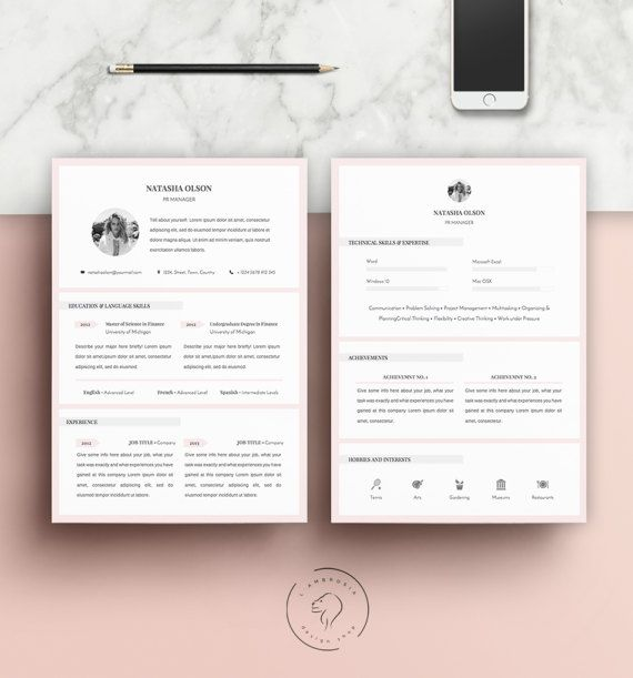 This listing is for a 5 page resume template kit. It is suitable for anybody, whether you are a professional with years of valuable experience or a student.  You do not have to stick to the default colors! They are easily editable. You can change the titles of each sections as well, so there are absolutely no language barriers. You can also resize text boxes and images. You even have the option to reposition each element, if you feel like doing so! The downloadable file includes the pages…