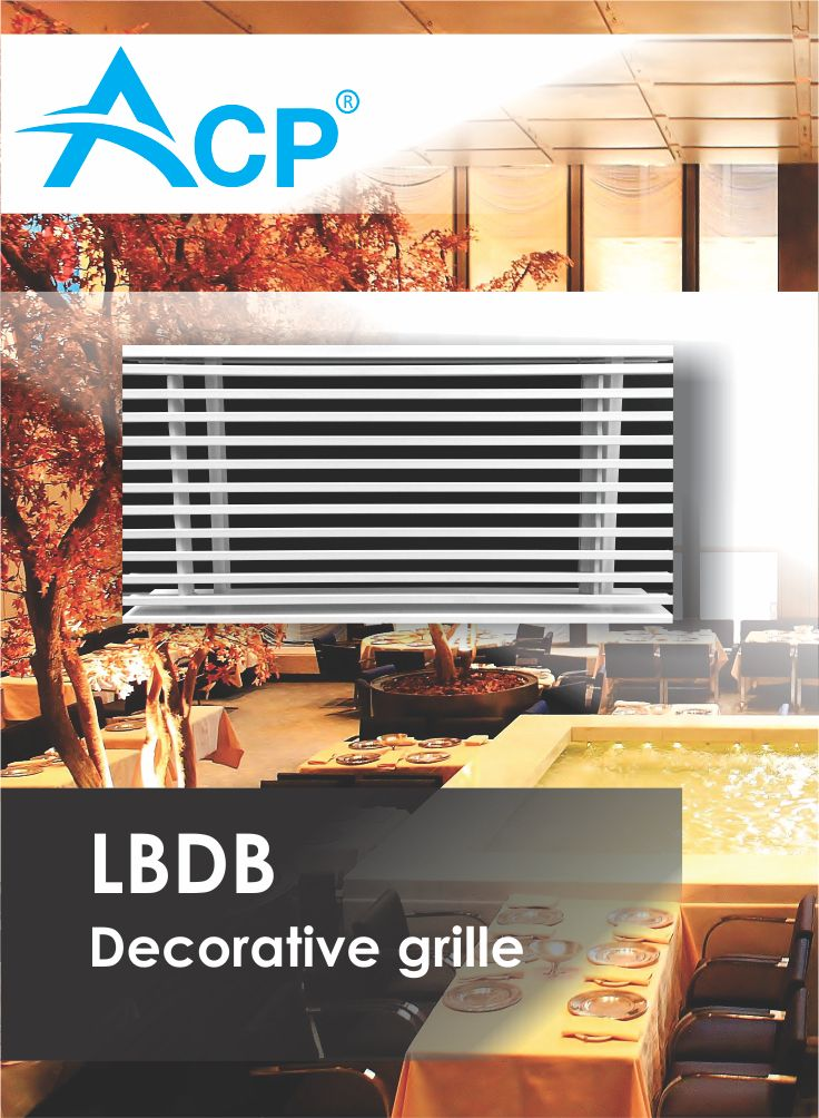 LBDB Decorative Ventilation Grille < Grila Liniara Decorativa >    | #hvac | #acp | #manufacturer | #ventilation | #products | #romania