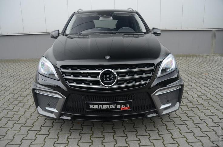 2012 Brabus Mercedes ML 63 AMG