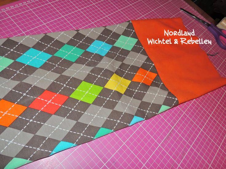 Nordland Wichtel : Winter-Multifunktionstuch mit Fleece