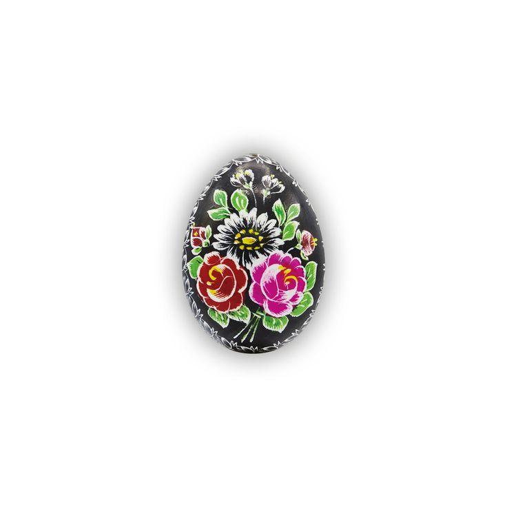 Velikonoční kraslice vyškrabovaná slepičí barevná vzor sb-0100 – Borkovanské kraslice