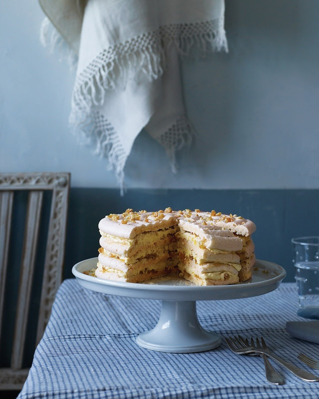 Pineapple Dacquoise - Martha Stewart Recipes