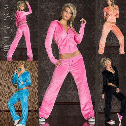 17 Best images about Velour tracksuits men/women on ...