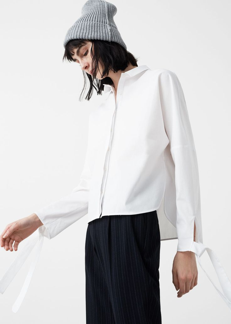 Bows poplin shirt - Shirts for Woman | MANGO USA