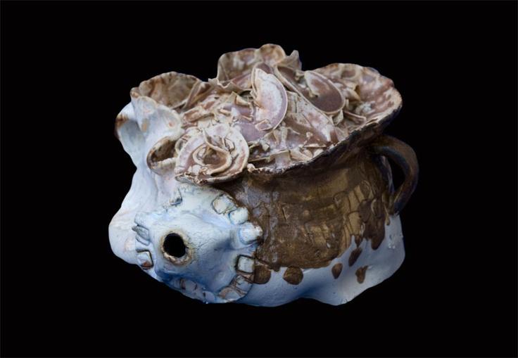 teapot art, Nina Koba