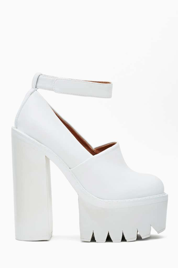 17 Best ideas about White Platform Shoes on Pinterest | White ...