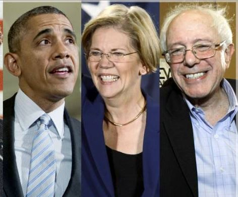 Bernie Sanders And Congressional Liberals Team Up With Obama To Kill Corporate Tax Cuts.