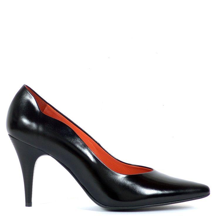 Anis alkalmi cipő - Fekete színű magas sarkú elegáns alkalmi cipő | ChiX.hu cipő webáruház http://chix.hu