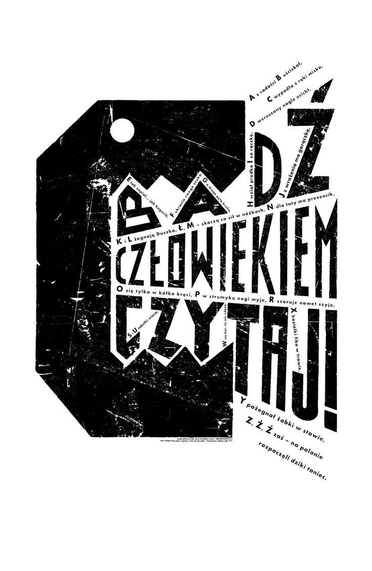 Les affiches du prodige polonais Jan Bajtlik