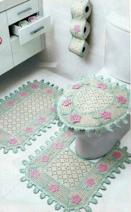 1000 Images About Ba 241 Os A Crochet On Pinterest Toilets