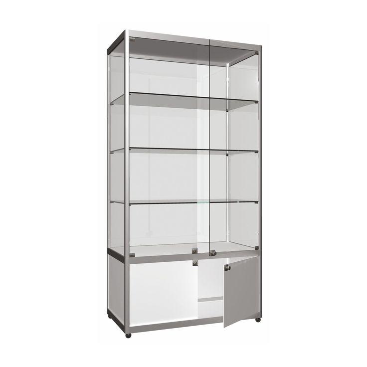 Uzun-Geniş Cam Vitrin (Dolaplı) http://ores.com.tr/v3/urunler/cam-dolaplar/dolapli-uzun-genis-cam-vitrin/