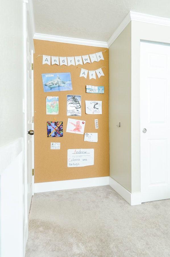 How To Build Install Removable Corkboard Walls Joyful Derivatives In 2020 Cork Board Wall Cork Board Ideas For Bedroom Cork Board