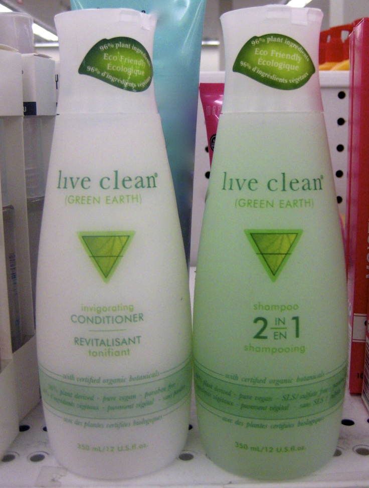 Shoppers Drug Mart - Live Clean Organic Shampoo and Conditioner #burlingtonmall