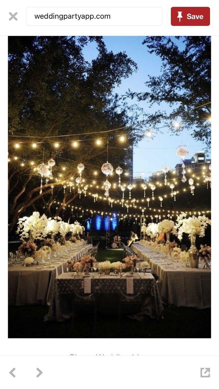 backyard wedding lighting ideas. outdoor wedding reception decoration ideas weddings by lilly backyard lighting k
