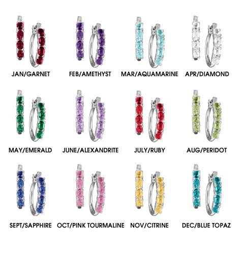 Best Color Of Birthstone Images On   Birth Month