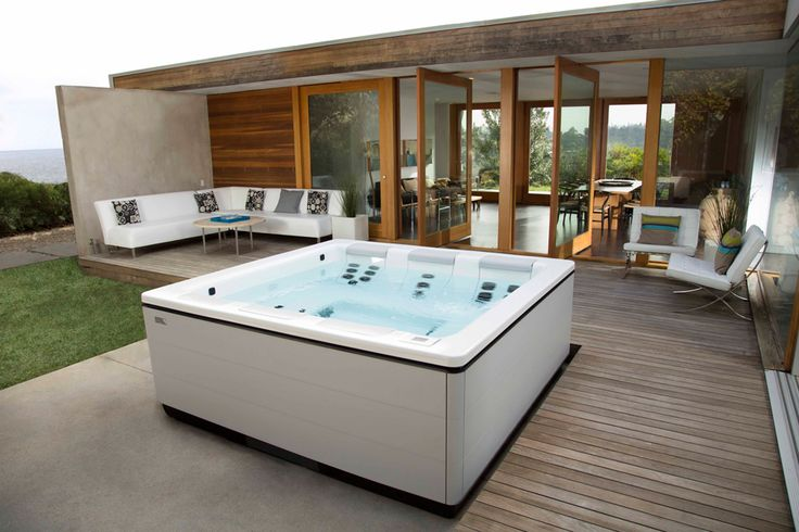 STIL, a modern hot tub design by Bullfrog Spas.