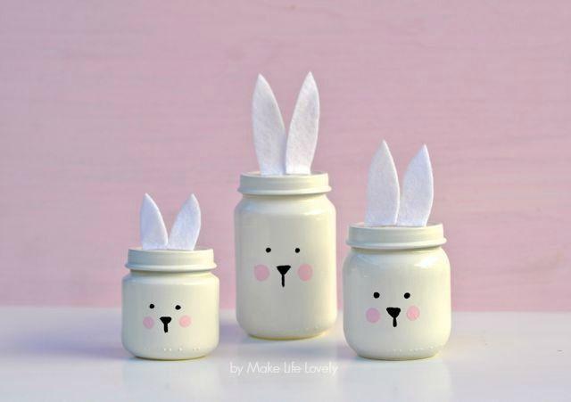 Come fare coniglietti con i vasetti degli omogeneizzati