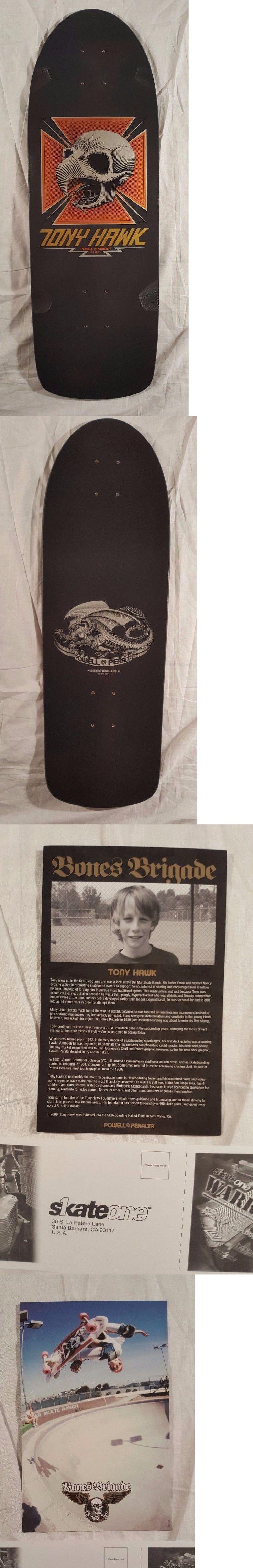 Decks 16263: Rare Black Powell Peralta Tony Hawk Chicken Skull 1 Reissue Skateboard Deck -> BUY IT NOW ONLY: $150 on eBay!