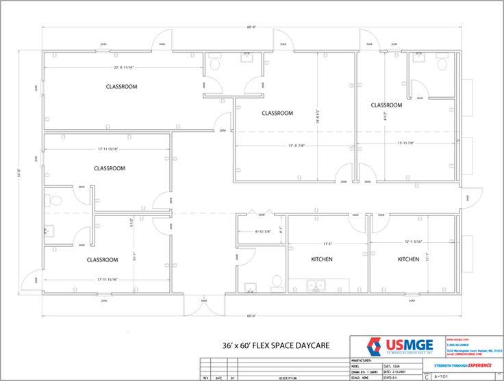 19 best Daycare Blueprints images on Pinterest Daycare ideas - best of construction blueprint reading certificate