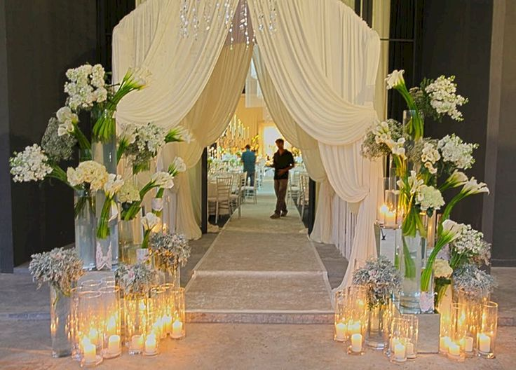 25 cute wedding entrance decoration ideas on pinterest