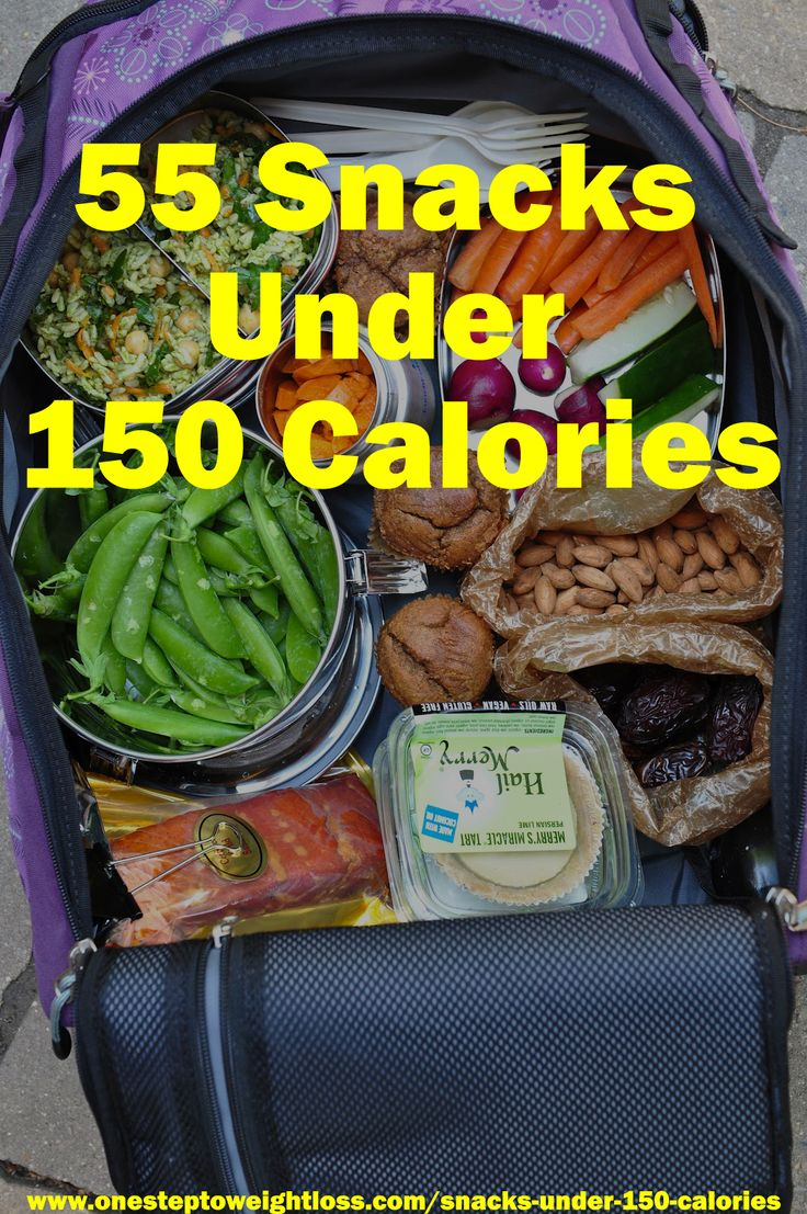 55 Tasty Snacks under 150 Calories! Just because you're eating less doesn't mean you can't enjoy what you eat! http://www.onesteptoweightloss.com/snacks-under-150-calories @homeweightloss