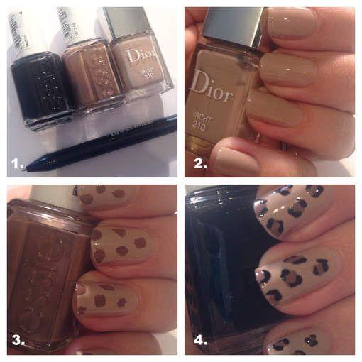 Manicure Maandag: neutrale luipaardprint - HLN.be