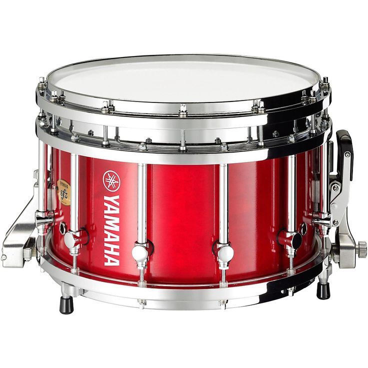 Yamaha 9300 Series Piccolo SFZ Marching Snare Drum 14 x 9 in. Red Forest with Chrome Hardware