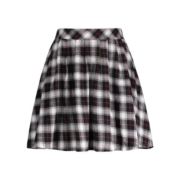 Plaid A Line Mini Skirt (915 INR) ❤ liked on Polyvore featuring skirts, mini skirts, bottoms, rosegal, tartan miniskirts, a line mini skirt, short mini skirts, short skirts and a-line skirts