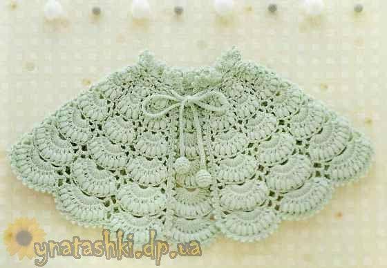 Crocheted ponchos for girls