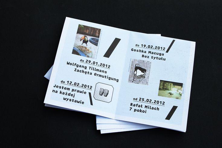Zachęta gallery campaign : FONTARTE :: fonts :: design